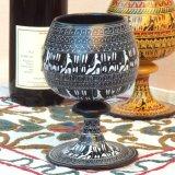 ヒッタイト柄ワインカップ(大)ブラック