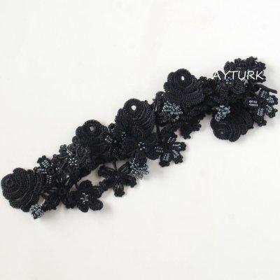 画像4: ブレスレット「ビジュー」ブラック